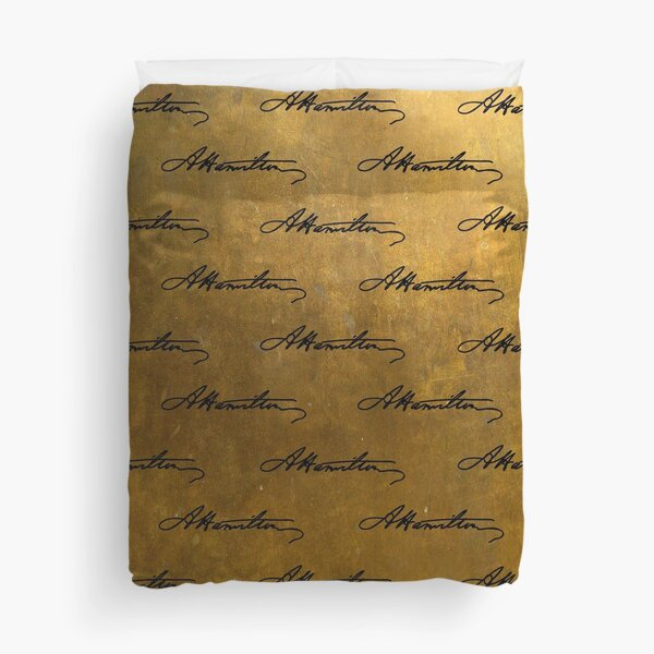 Hamilton Repeating Pattern Duvet Cover