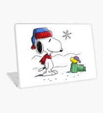Winter Snoopy & Woodstock (Peanuts) Laptop Skin