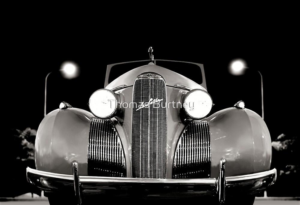 1939 LaSalle Cadillac B/W by Thomas Burtney