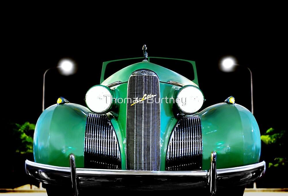 1939 LaSalle Cadillac by Thomas Burtney