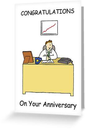 work anniversary ecard
