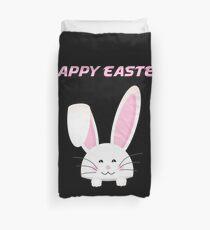 Easter Bunny Happy Easter Duvet Cover
