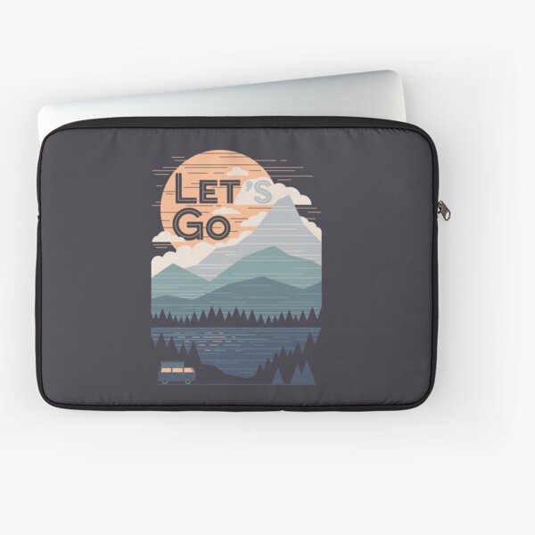 Let's Go Laptop Sleeve