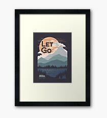 Let's Go Framed Print