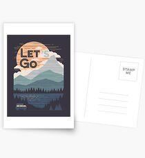 Let's Go Postcards