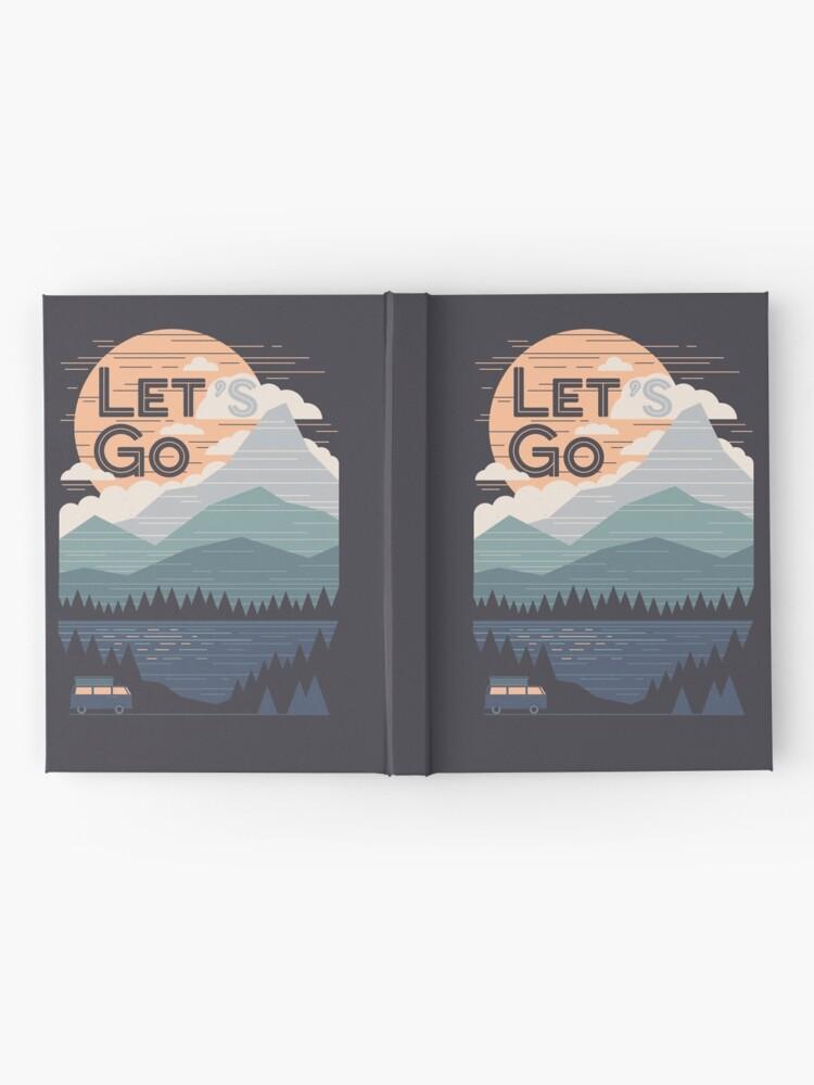 Alternate view of Let's Go Hardcover Journal