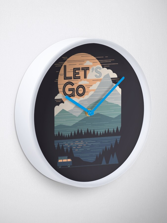 Alternate view of Let's Go Clock