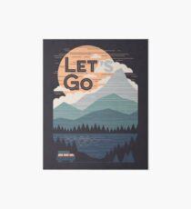 Let's Go Art Board