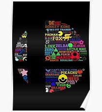 Smash Roster Poster