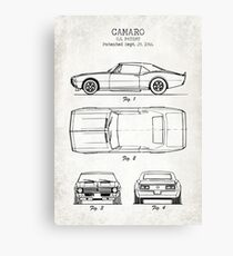 Camaro Canvas Print