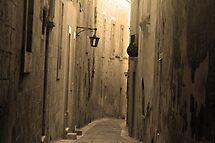 Old Mdina strait road by Christian  Zammit