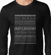 typography black T-Shirt