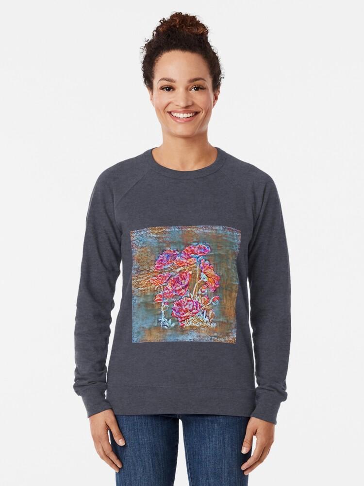 Alternate view of Poppies Lightweight Sweatshirt
