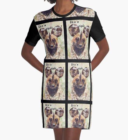 Ek ist 'n Bedreide Spesie! T-Shirt Kleid