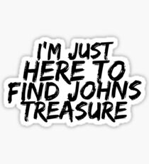 John's Treasure- Painted  Sticker