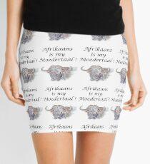 Afrikaans is my Moedertaal Mini Skirt