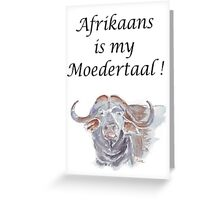 Afrikaans is my moedertaal stickers by maree clarkson redbubble greeting card m4hsunfo