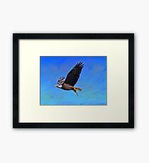 Eagle Series Success Framed Print