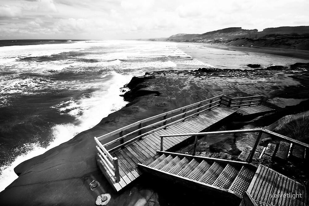 Boardwalk by velvetlight