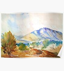 Magaliesberg Mountains Poster