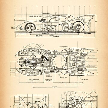 Batmobile by muharko