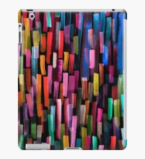 Multicolored watercolor stripes pattern iPad Case/Skin
