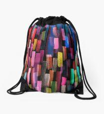 Mochila de cuerdas Multicolored watercolor stripes pattern