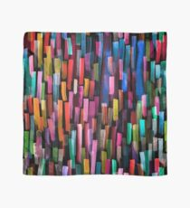 Multicolored watercolor stripes pattern Scarf
