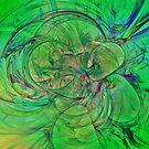 Green World by Deborah  Benoit