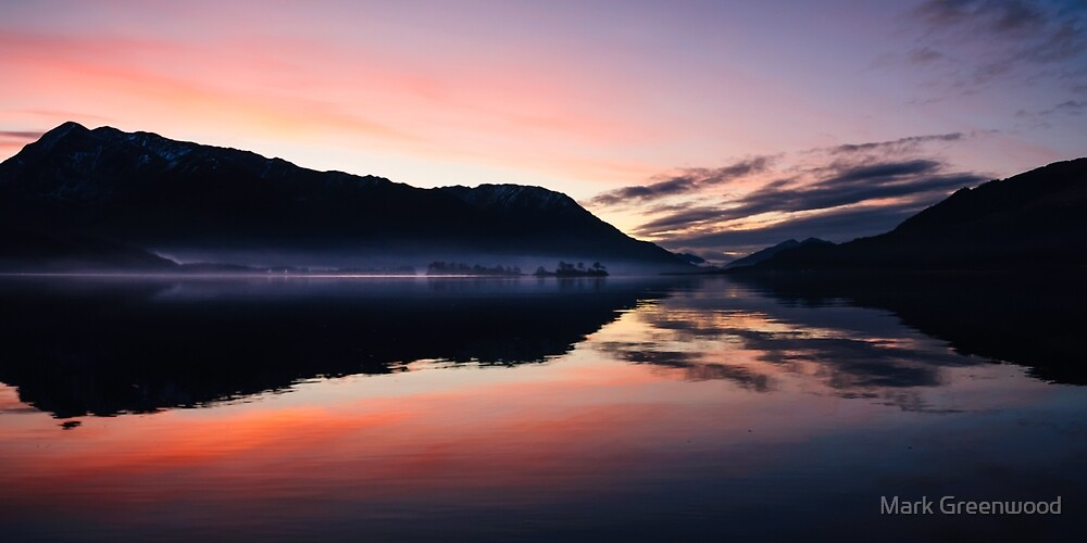 Smoke On The Water by Mark Greenwood