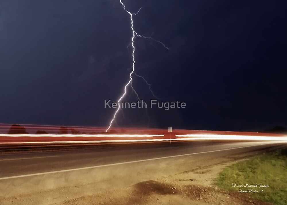 Lightning in Motion by Kenneth Fugate