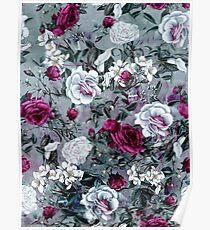 Botanical Flowers Poster