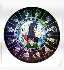 Homestuck Wheel Of Me 3 Poster