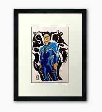 Black Lightning - DC Comics Framed Print