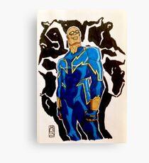 Black Lightning - DC Comics Canvas Print