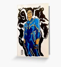Black Lightning - DC Comics Greeting Card