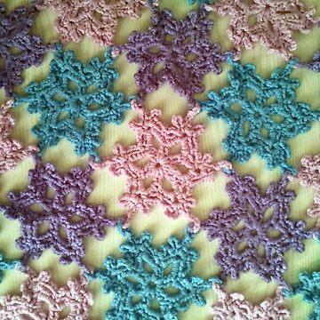 Woollen snowflakes by Arianey