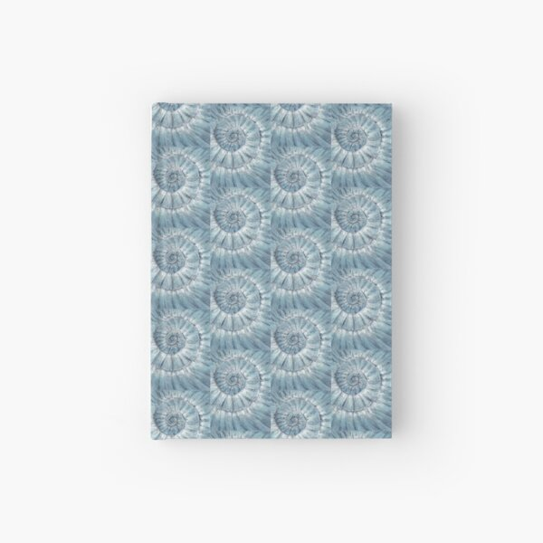 Ammonite no.90 - 100 ammonites project Hardcover Journal