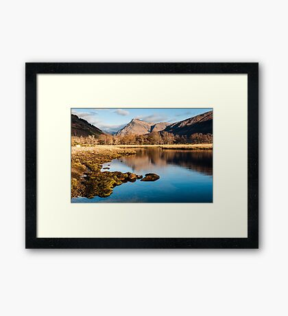 Glen Etive Reflections Framed Print