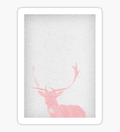 Deer 02 Sticker