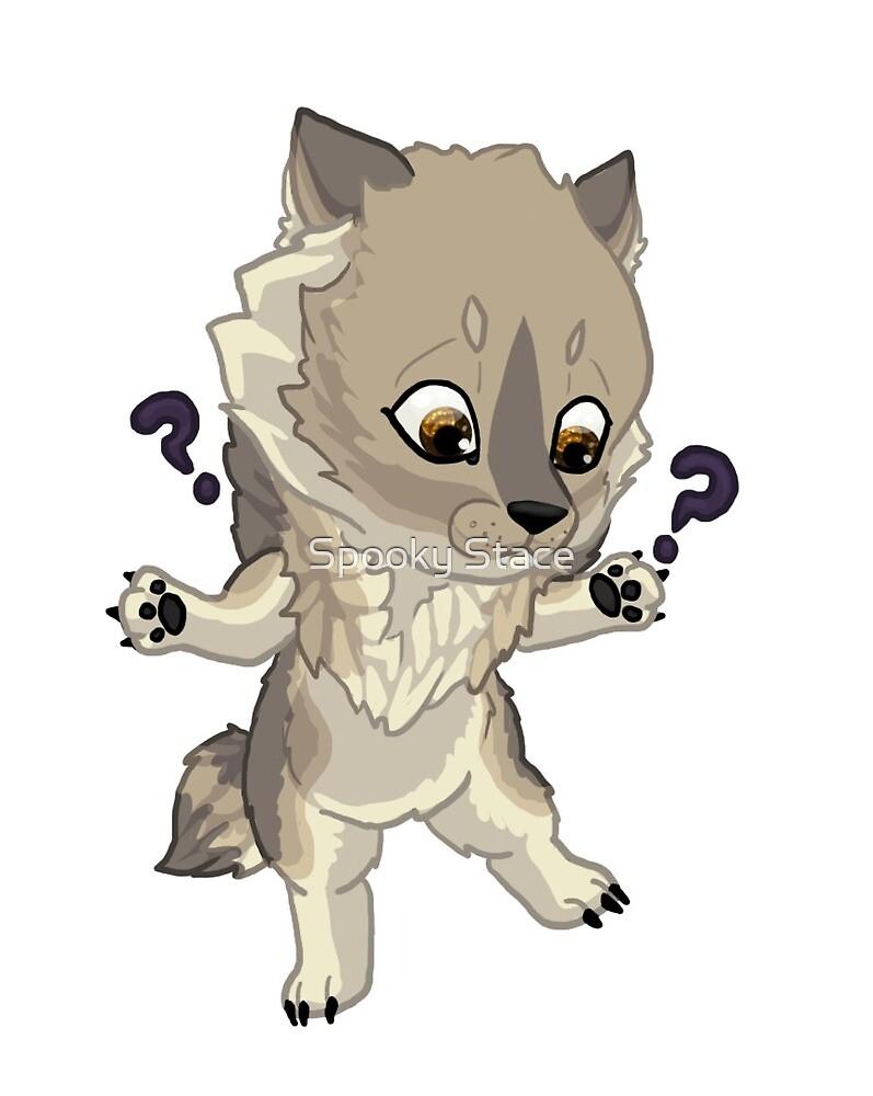 Grey wherewolf by Murder-Mistress