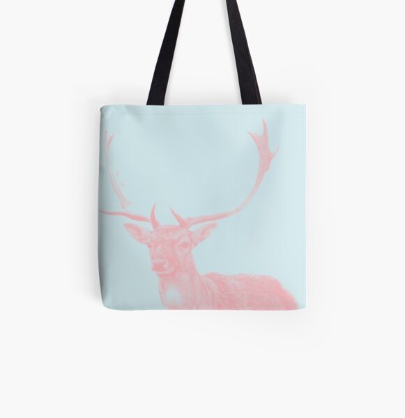Hirsch 02 Allover-Print Tote Bag