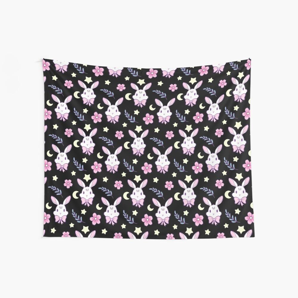 Sakura-Häschen Wandbehang