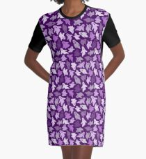 Funny little ghosts Graphic T-Shirt Dress