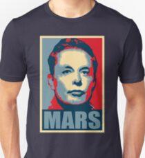 Elon Musk Mars Slim Fit T-Shirt