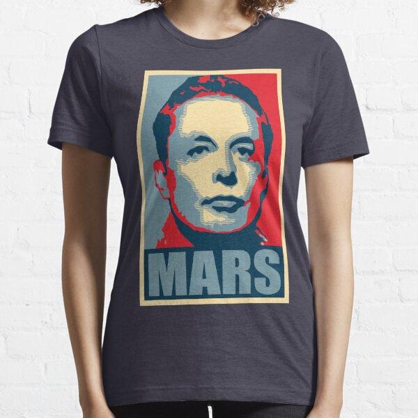 Elon Musk Mars Essential T-Shirt