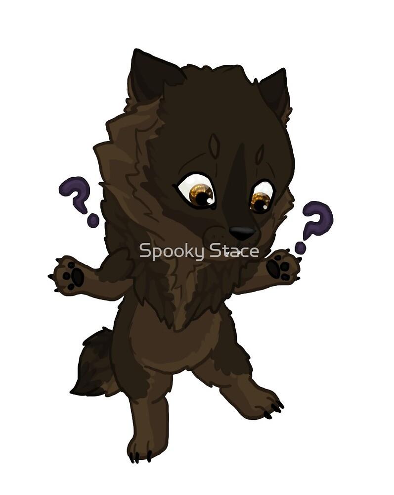 Brown wherewolf by Murder-Mistress