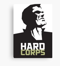 HARD CORPS Canvas Print