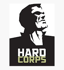 HARD CORPS Photographic Print