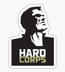 HARD CORPS Sticker